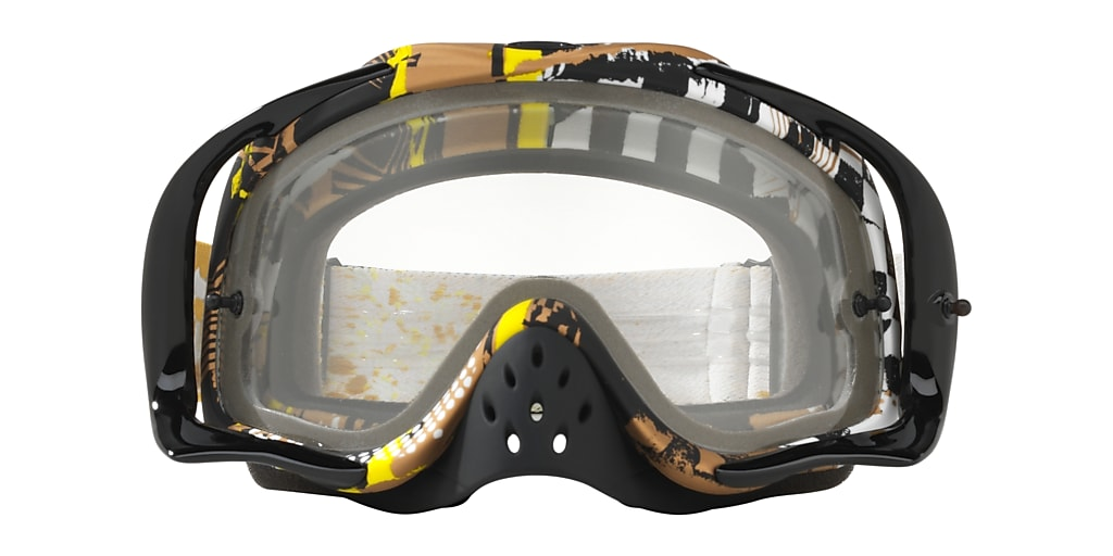 Black OO7025 Crowbar® MX Goggle Transparent