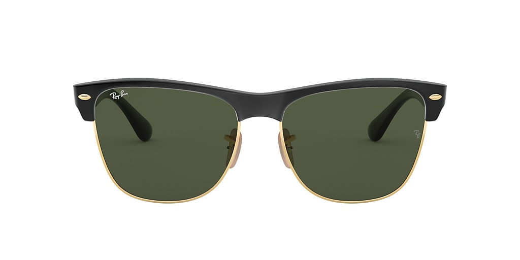 Black RB4175 CLUBMASTER OVERSIZED Green  57