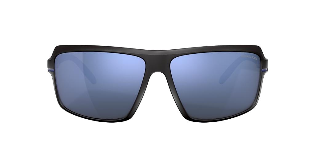 Negro mate MK2114 Carson Espejadas azul
