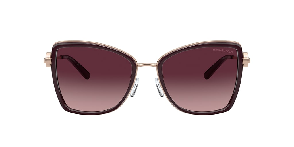 Rose Gold MK1067B Burgundy
