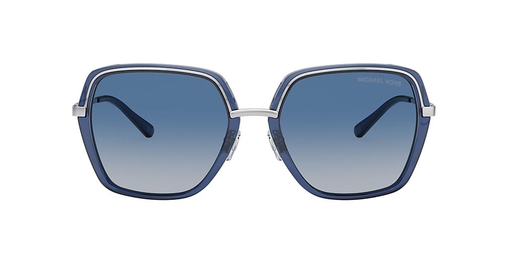 Blue on Silver MK1075 NAPLES Blue Gradient