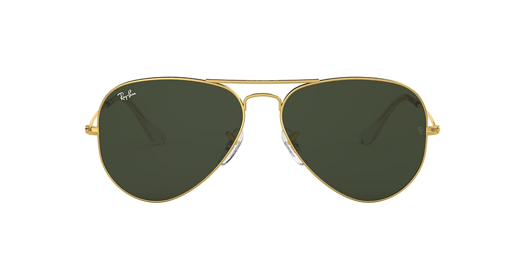 Gold RB3025 AVIATOR CLASSIC Green Classic G-15  55