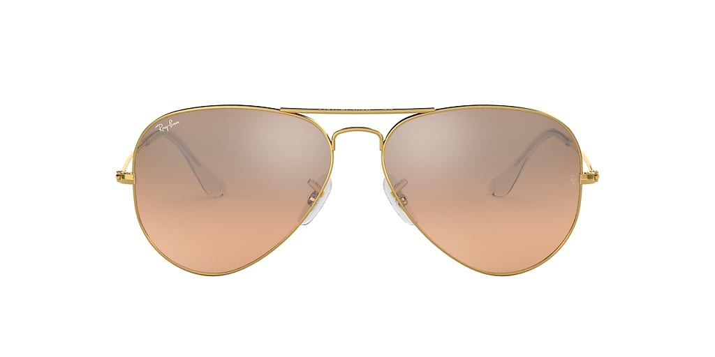 Oro RB3025 AVIATOR GRADIENT Rosa  58