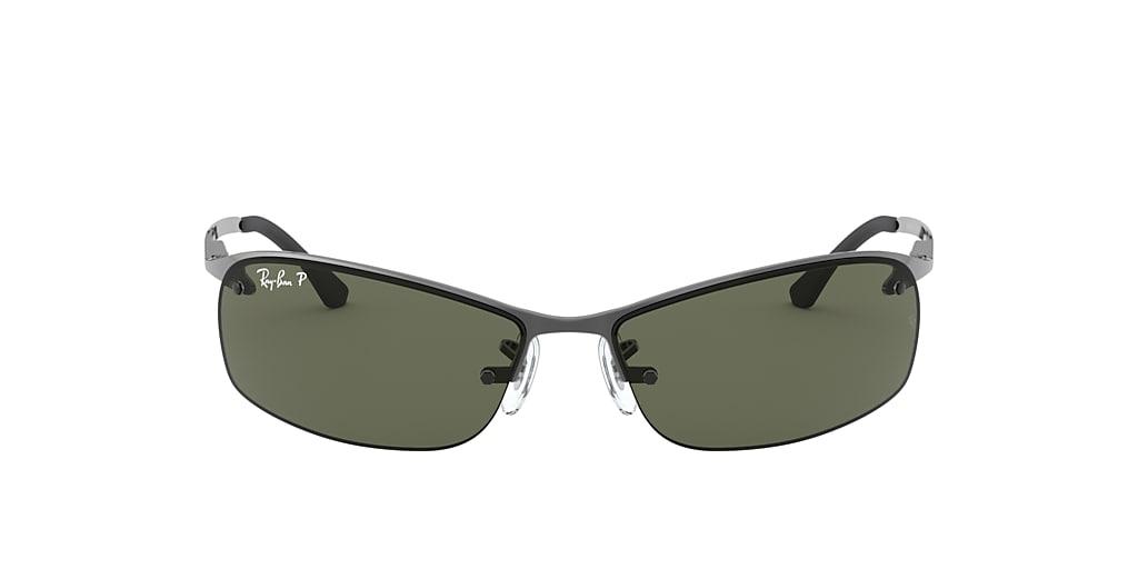 Gunmetal RB3183 Green  63