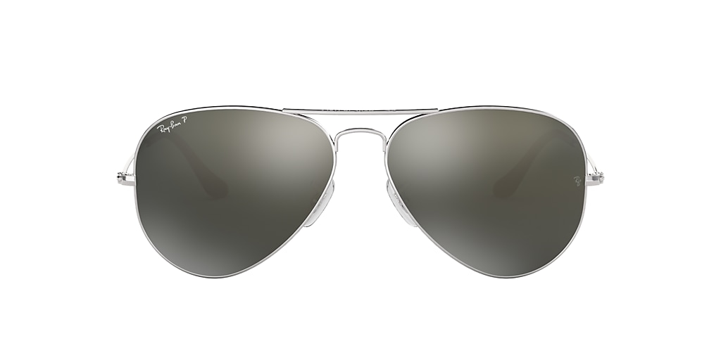 Silver RB3025 AVIATOR CLASSIC Silver  58