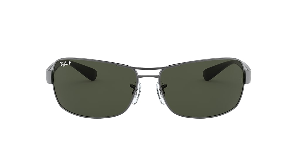 Gunmetal RB3379 Green  64