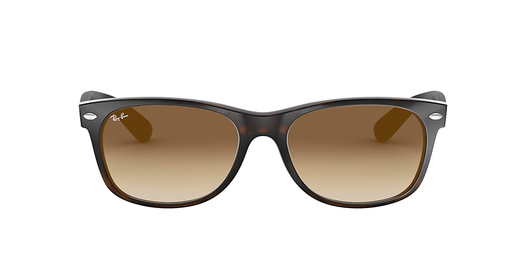 Tortoise RB2132 NEW WAYFARER CLASSIC Light Brown Gradient  55