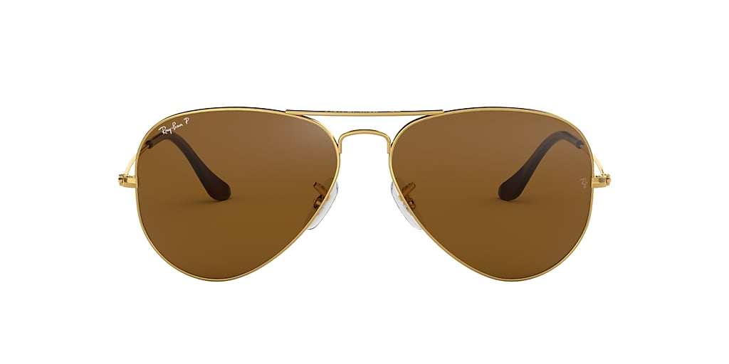 Gold RB3025 AVIATOR CLASSIC Brown  58