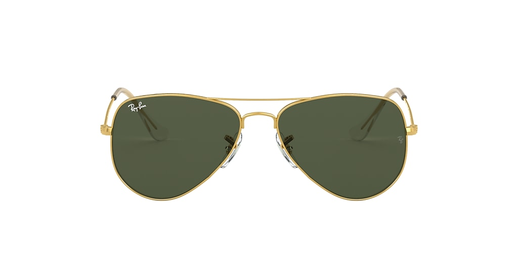 Gold RB3025 AVIATOR CLASSIC Green Classic G-15  52