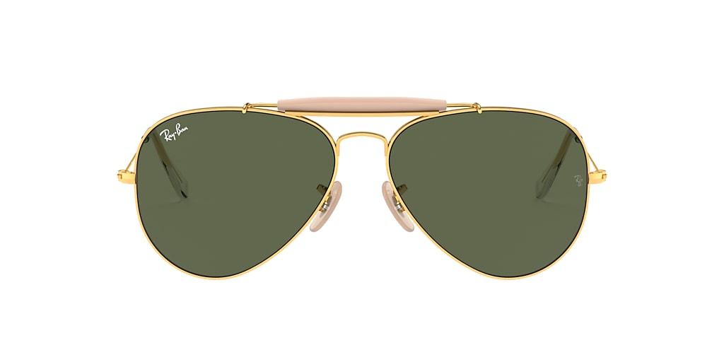 Gold RB3029 OUTDOORSMAN II Green  62
