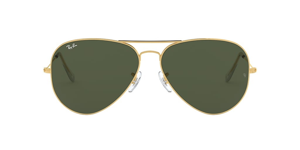 Gold RB3025 AVIATOR CLASSIC Green Classic G-15  62
