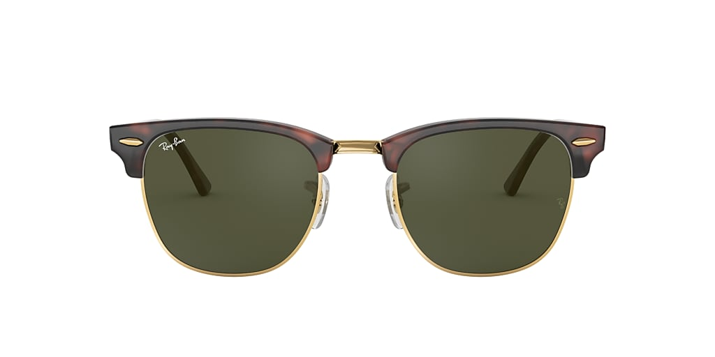 Tortoise RB3016 CLUBMASTER CLASSIC Green Classic G-15  49