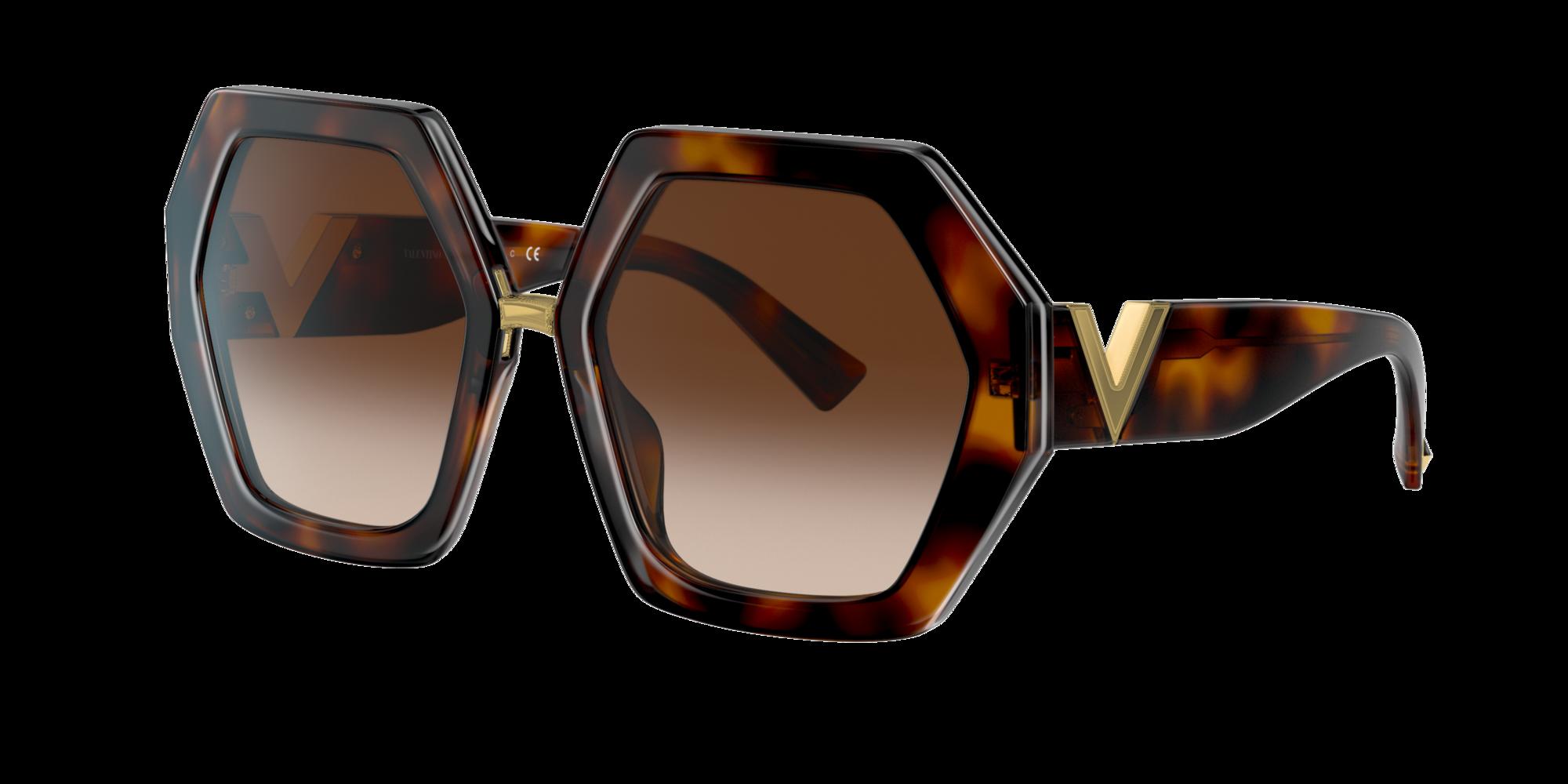 Valentino Woman  VA4053 -  Frame color  Brown, Lens color  Brown, Size 57-20 140
