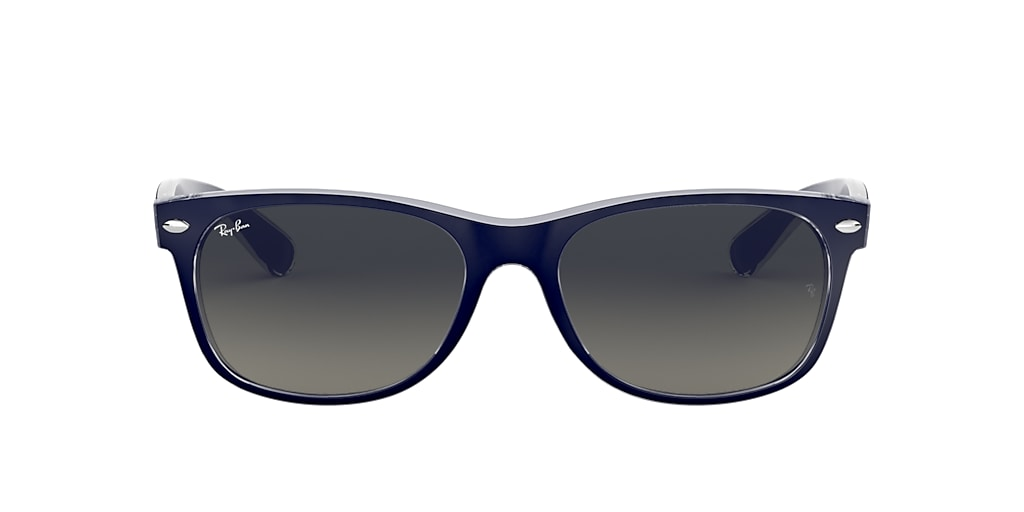 Bleu RB2132 NEW WAYFARER COLOR MIX Gris-Noir  52