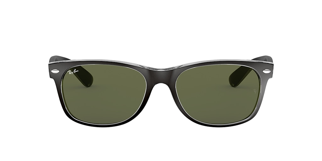 Black RB2132 NEW WAYFARER COLOR MIX Green  55