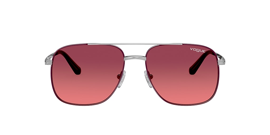 Silver VO4083S Gigi Hadid x Vogue Eyewear Pink  55