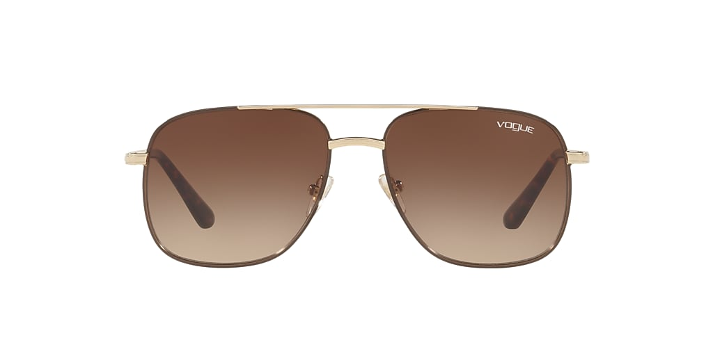 Gold VO4083S Gigi Hadid x Vogue Eyewear Brown  55