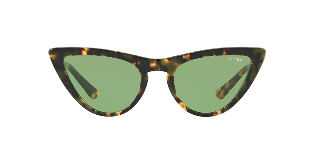 Tortoise VO5211S Gigi Hadid x Vogue Eyewear Green Legend  54