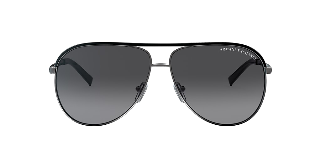 Black AX2002 Polarized Grey Gradient  61