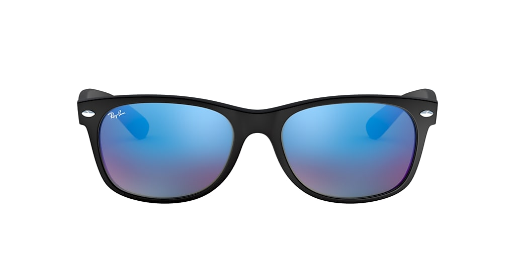Black RB2132 NEW WAYFARER FLASH Blue Flash  52