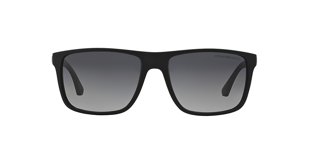 Black EA4033 Polarized Grey Gradient  56