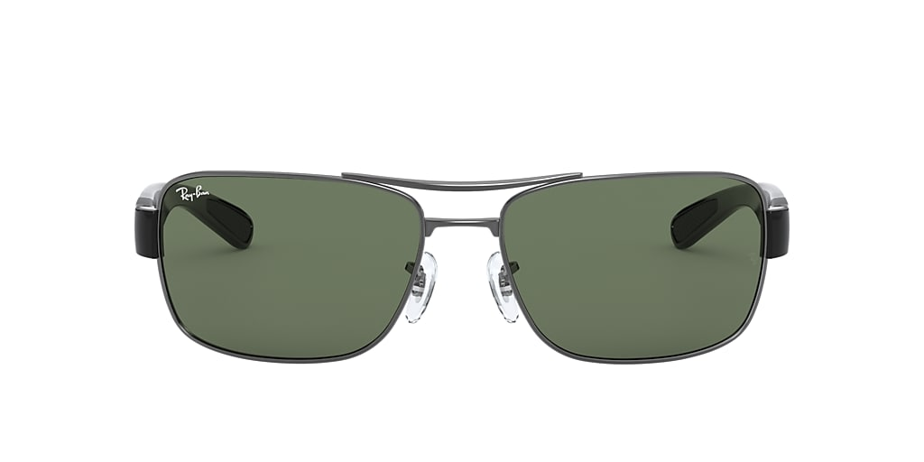 Gunmetal RB3522 Green Classic  61
