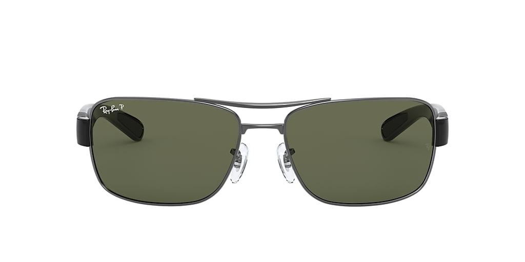 Gunmetal RB3522 Green  61