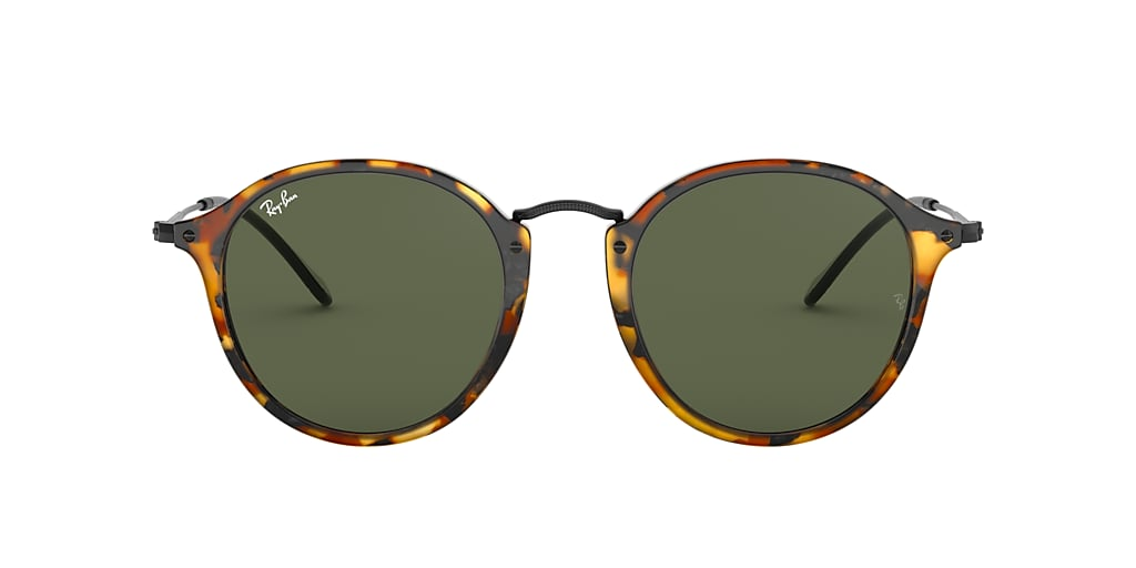 Tortoise RB2447 ROUND FLECK Green Classic G-15  49