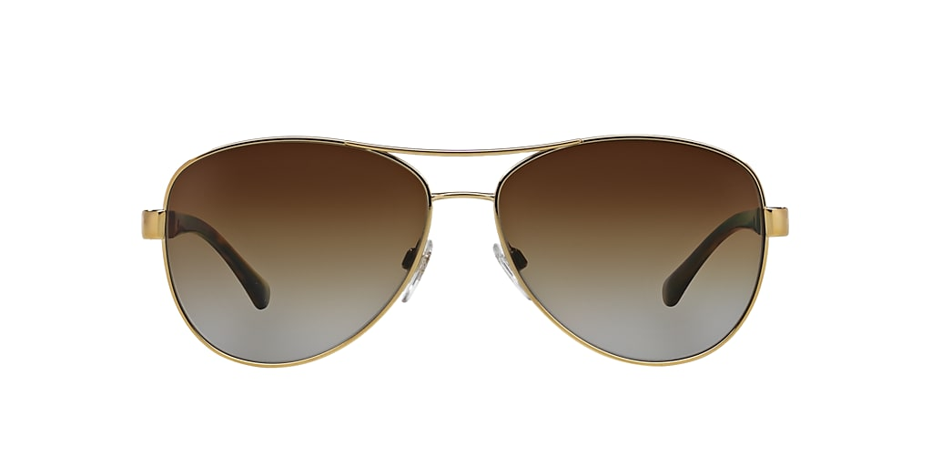 Gold BE3080 Polarized Brown Gradient  59
