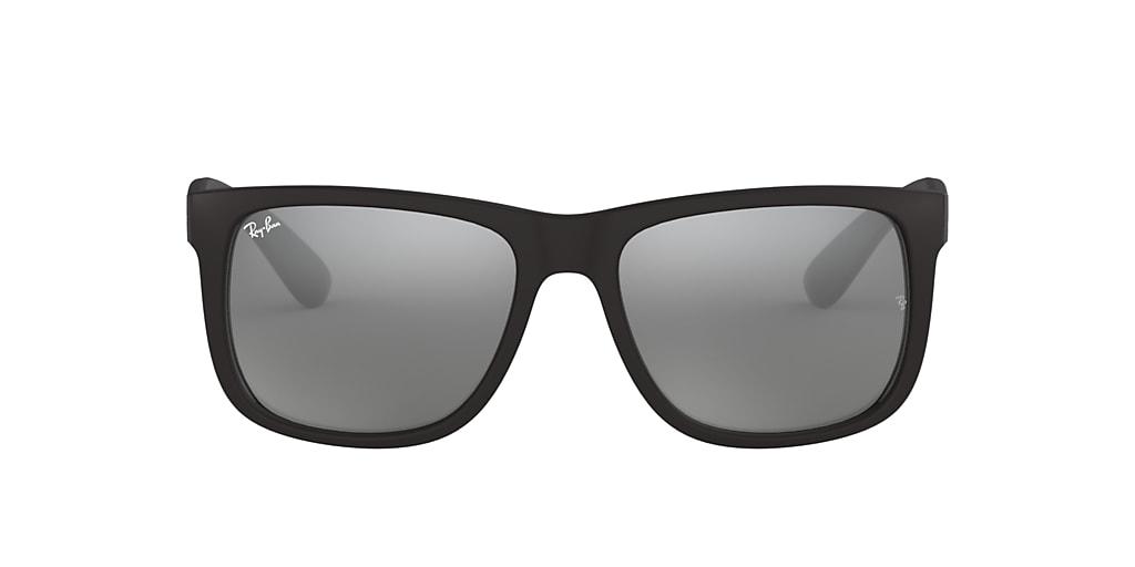 Black RB4165 JUSTIN COLOR MIX Grey Mirror  54