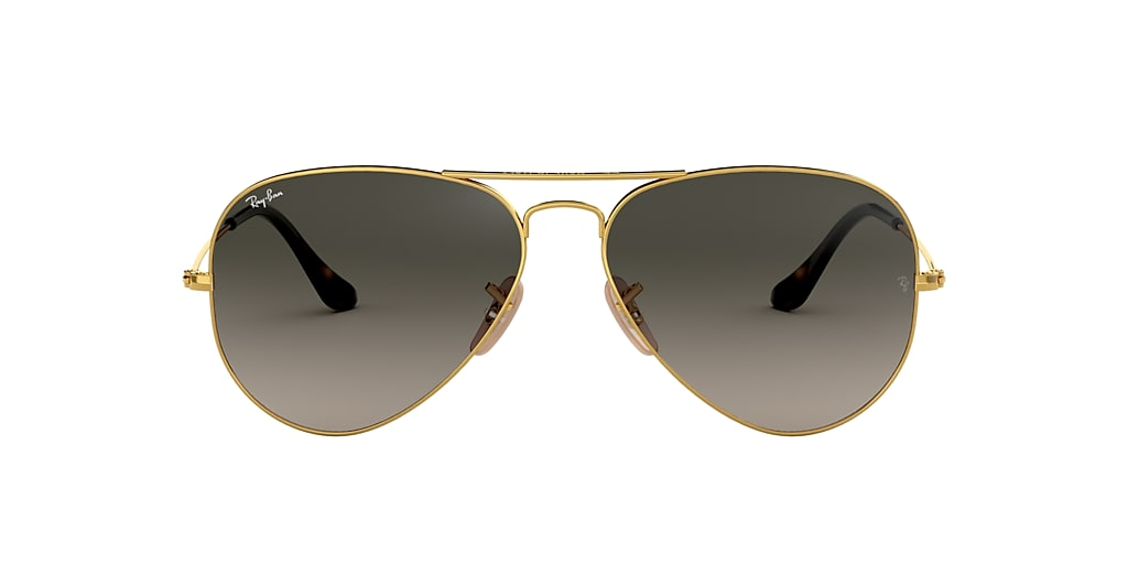 Gold RB3025 AVIATOR HAVANA COLLECTION Grey-Black  58