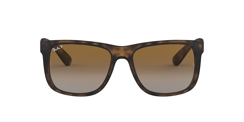 Tortoise RB4165 JUSTIN CLASSIC Polarized Brown Gradient  55
