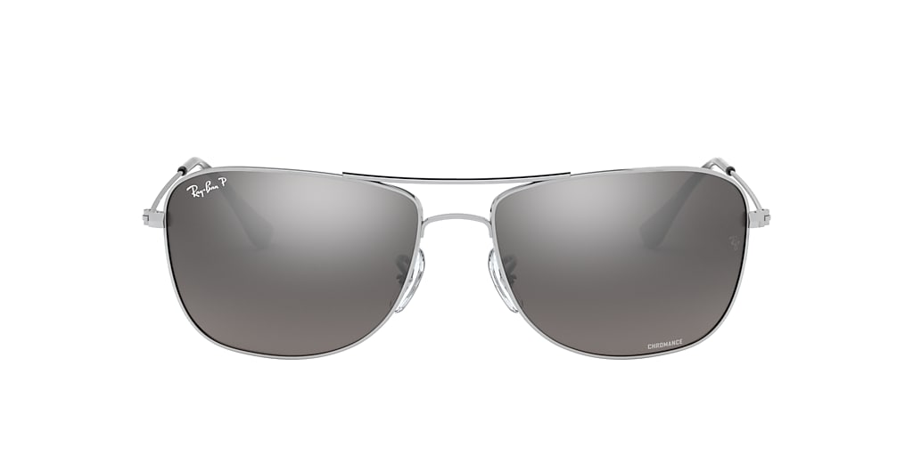 Silver RB3543 Chromance Silver  59