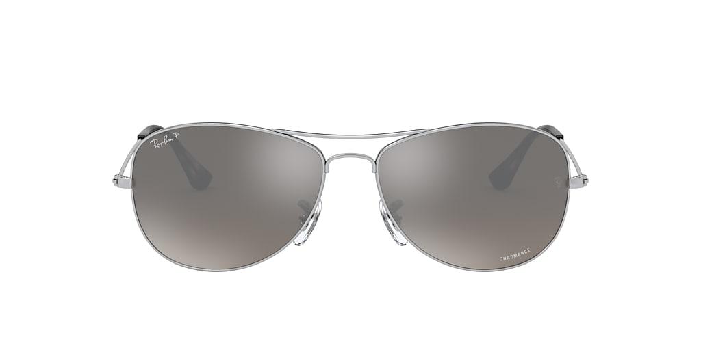 Silver RB3562 Chromance Grey-Black  59