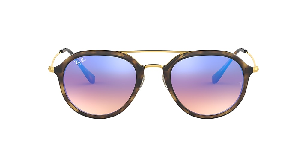 Tortoise RB4253 Blue Gradient Flash  53