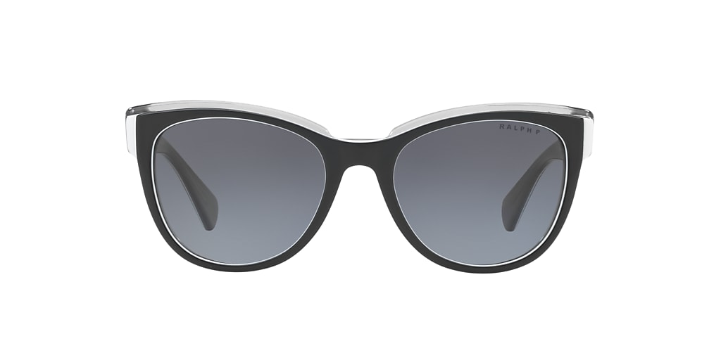 Black RA5230 Polarized Grey Gradient  53