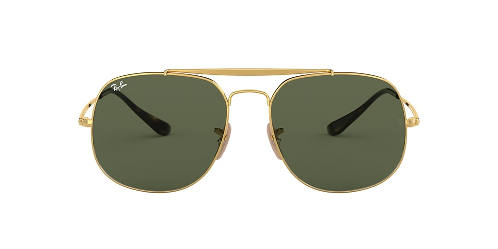 Gold RB3561 GENERAL Green Classic G-15  57