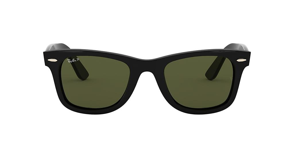 Black RB4340 WAYFARER EASE Polarized Green Classic G-15  50