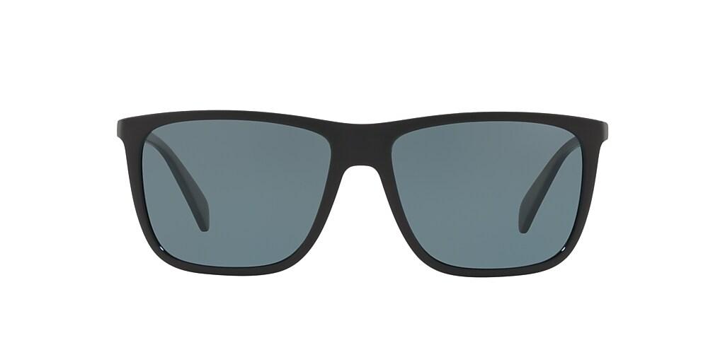 Black HU2004 Polarized Blue Classic  57