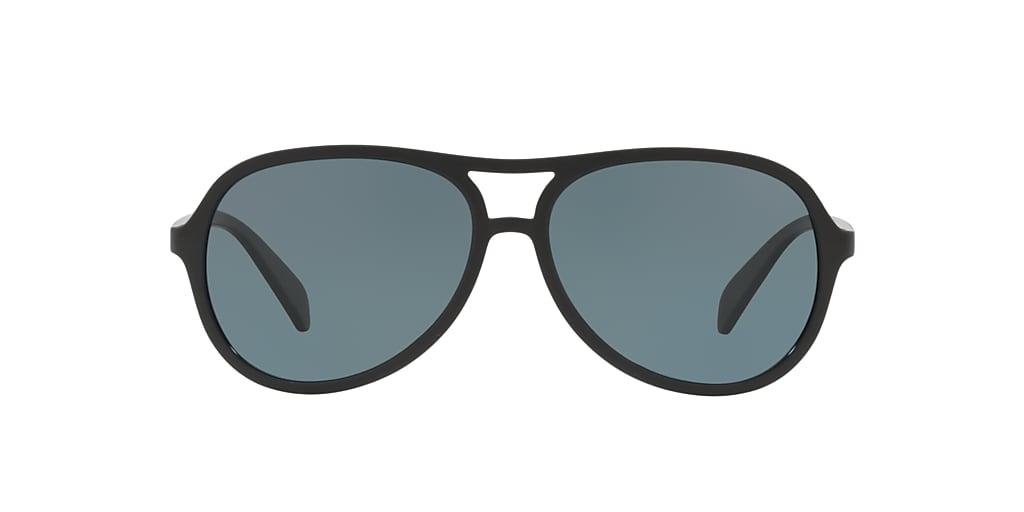 Black HU2005 Polarized Blue Classic  57