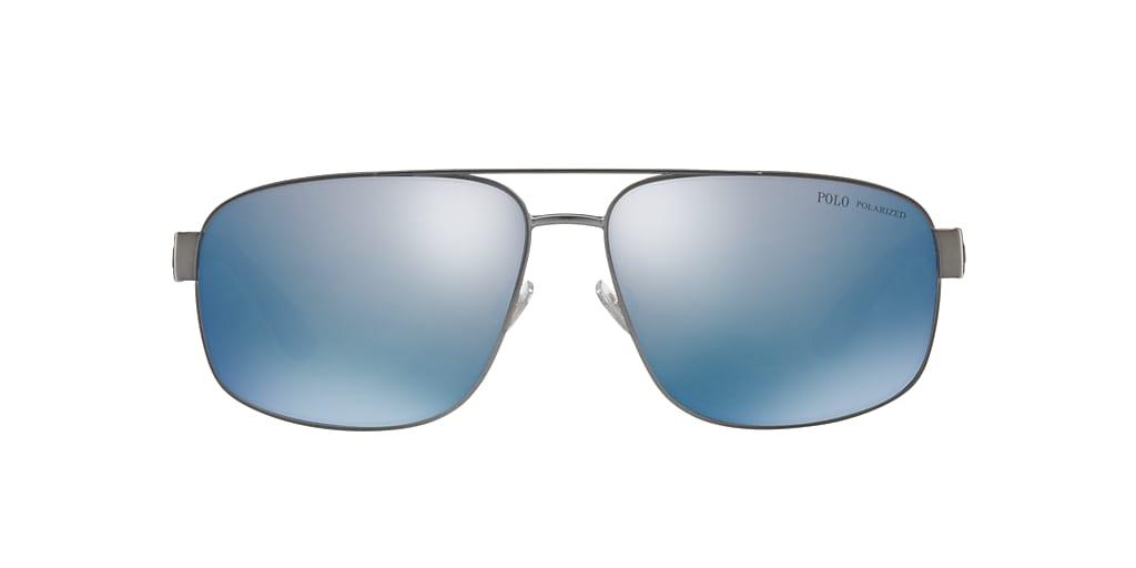 Gunmetal PH3112 Polar Mirror Blue  62