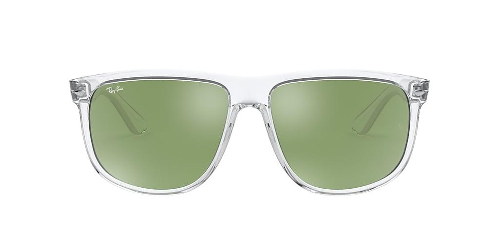 Transparent RB4147 Green  60