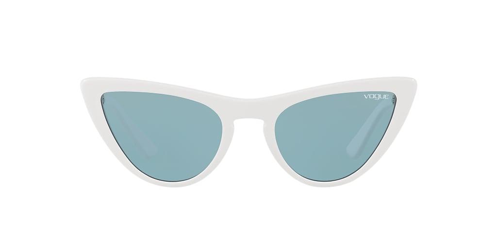 White VO5211S Gigi Hadid x Vogue Eyewear Blue  54