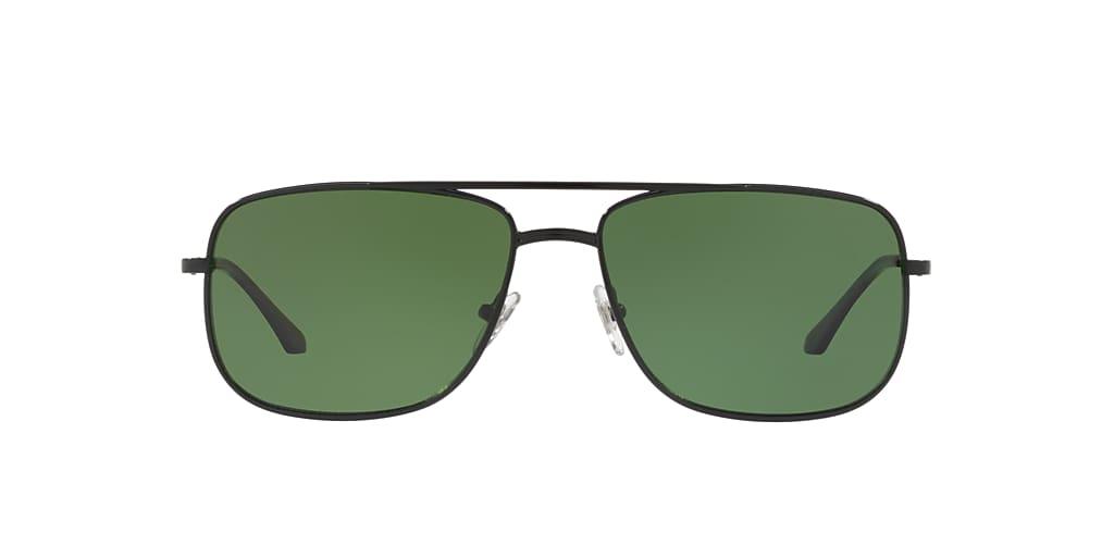 Negro HU1004 Clásica polarizada verde G-15  59