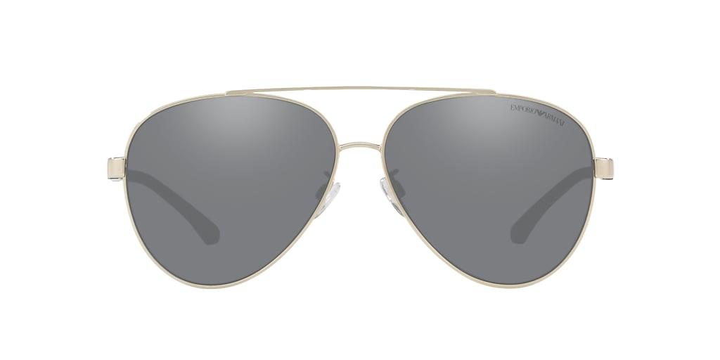 Gold EA2046D Light Grey/Black Mirror  62