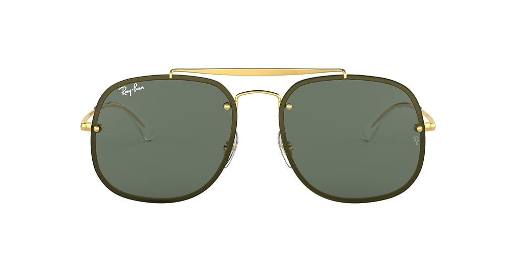 Gold RB3583N BLAZE GENERAL Green  58