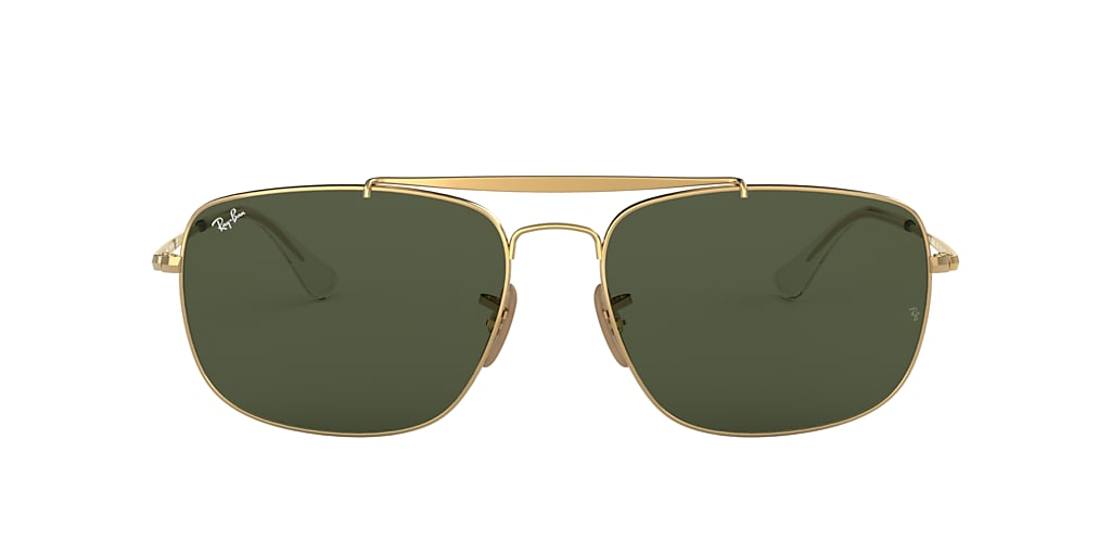 Gold RB3560 COLONEL Green Classic G-15  61