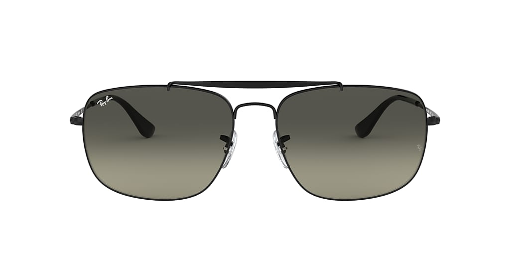 Black RB3560 COLONEL Grey Gradient  61
