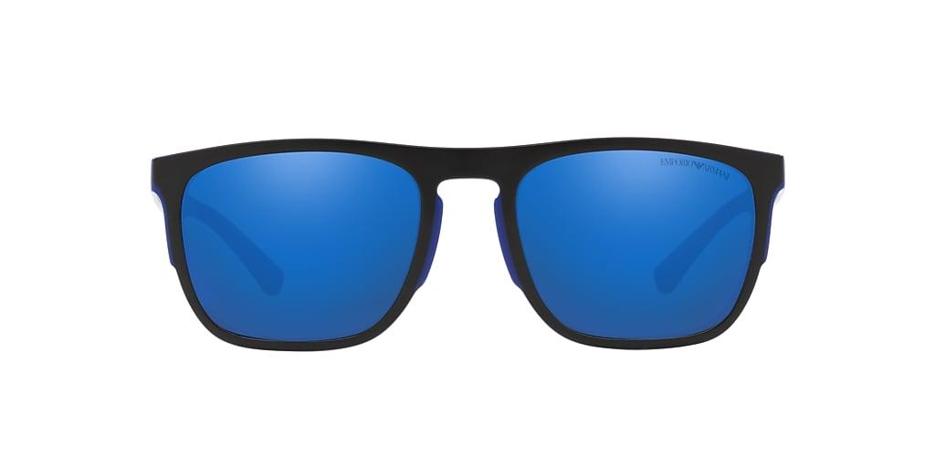 Bleu EA4114 Effet miroir bleu  55