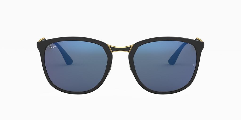 Black RB4299 Blue Mirror  56